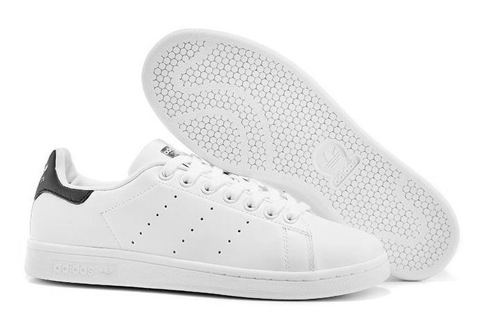 Adidas Stan Smith белые с черным (35-44)
