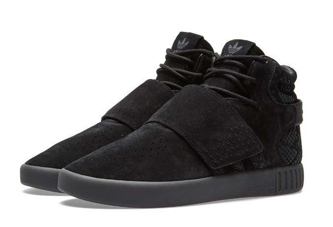 Adidas Tubular Invader Strap черные (40-44)