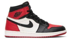 Nike Air Jordan 1 красно-черные (40-44)