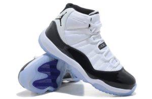 Nike Air Jordan 11 Retro бело-черные (40-45)