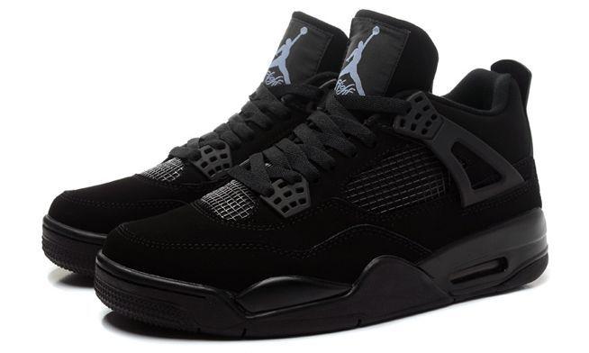 Air Jordan 4 Retro черные (35-44)
