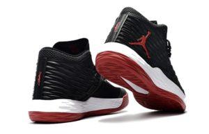 Nike Air Jordan Melo M13 черные с красным (40-45)