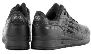 Asics Gel Lyte 3 черные (40-45)