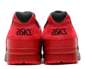 Atmos x Asics Gel Lyte 5 красные с черным (35-44)