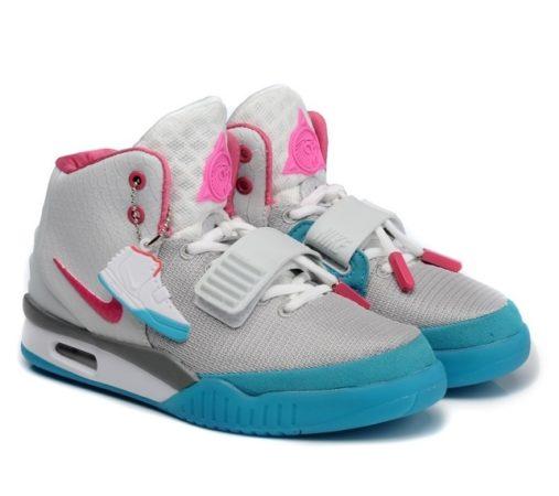 Nike Yeezy Kanye West серо-голубые (35-40)