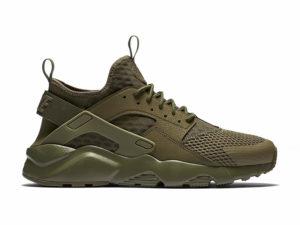 Nike Air Huarache Ultra зеленые мужские ЖЕНСКИЕ (35-44)