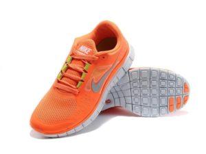 Nike Free Run оранжевые (35-40)