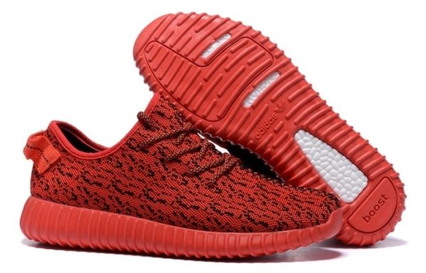 Adidas Yeezy 350 Boost (kanye west) red красные (35-45)