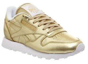 Face Stockholm x Reebok Classic Leather золотые (35-39)
