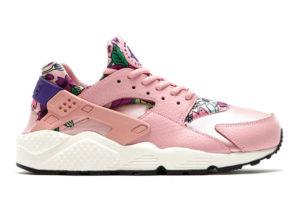 Nike Air Huarache розовые с рисунком (35-39)