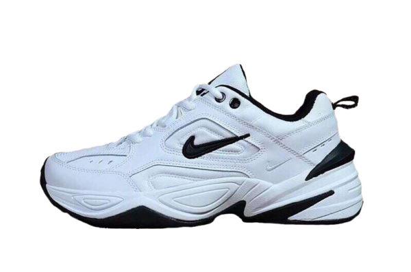 Nike m2k tekno white black мужские 40-44