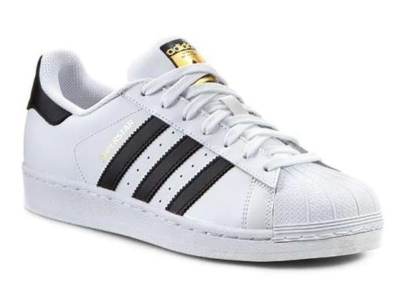Adidas Superstar белые с черным (35-45) Адидас Суперстар