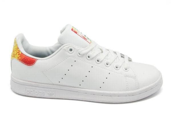 Adidas Stan Smith белые с красным (40-45)