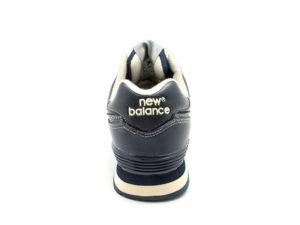 New Balance 574 кожаные темно-синие (40-46)