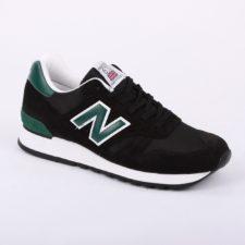 NEW BALANCE 670 ЗАМША-СЕТКА черные с зеленым (40-44)