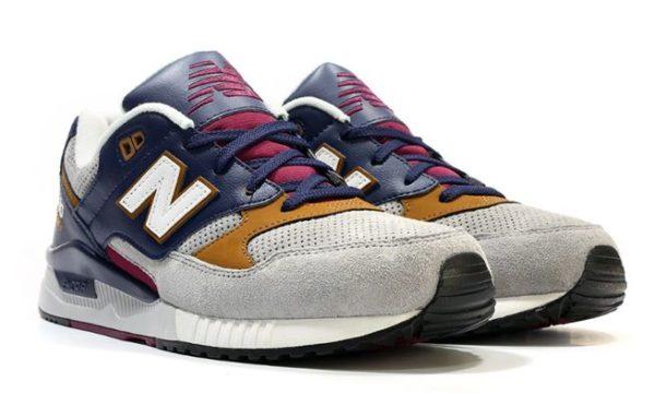 Замшевые мужские кроссовки New Balance