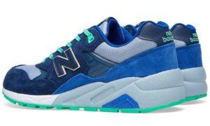 New Balance 580 синие замша (40-44)