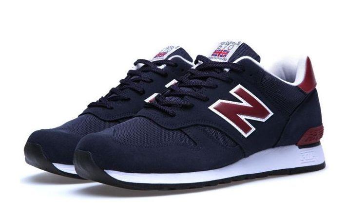 New Balance 670 синие с бордовым (35-44)