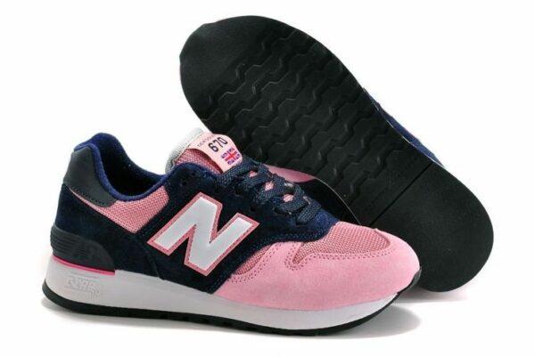 New Balance 670 синие с розовым (35-39)