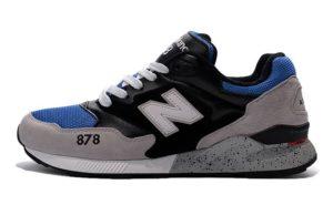 New Balance 878 черные с синим с серым (39-43)