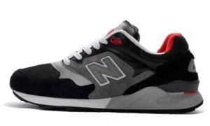 New Balance 878 черные с серым (39-43)