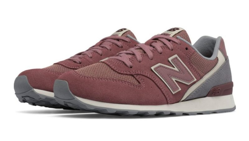 New Balance 996 бордовые с серым (35-39)