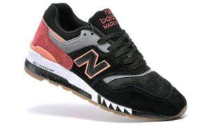 New Balance 997.5 черно-красные (35-43)