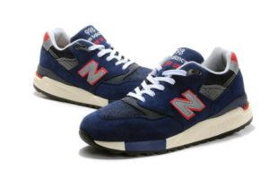 New Balance 998 синие с красным (39-43)