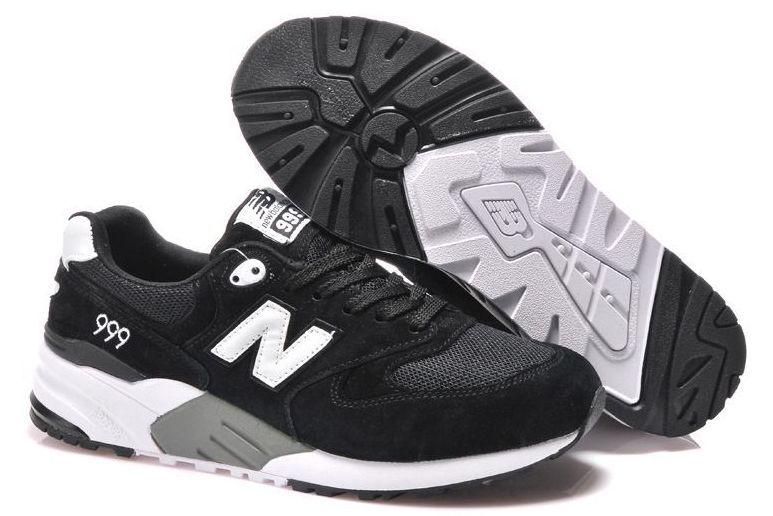 New Balance 999 черные с белым (39-43)