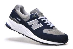 New Balance 999 темно-синие с серым (39-44)
