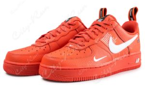 Nike Air Force 1 07 LV8 Utility красные (35-44)