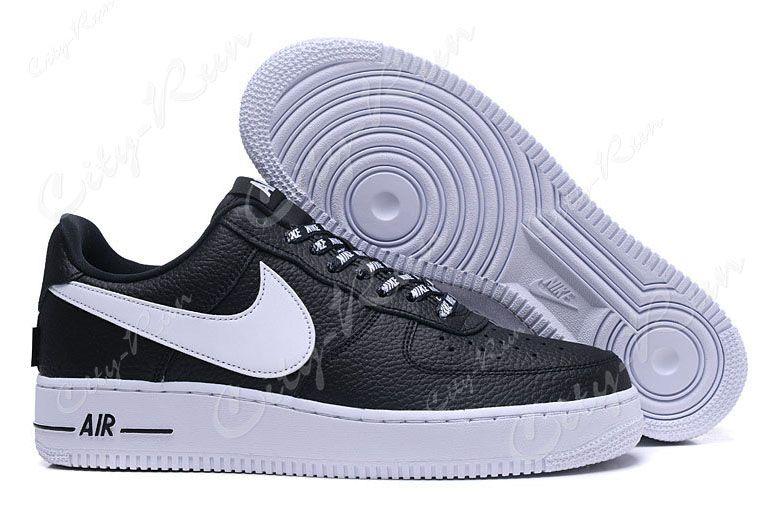 Nike Air Force 1 LV8 NBA черные с белым (35-44)