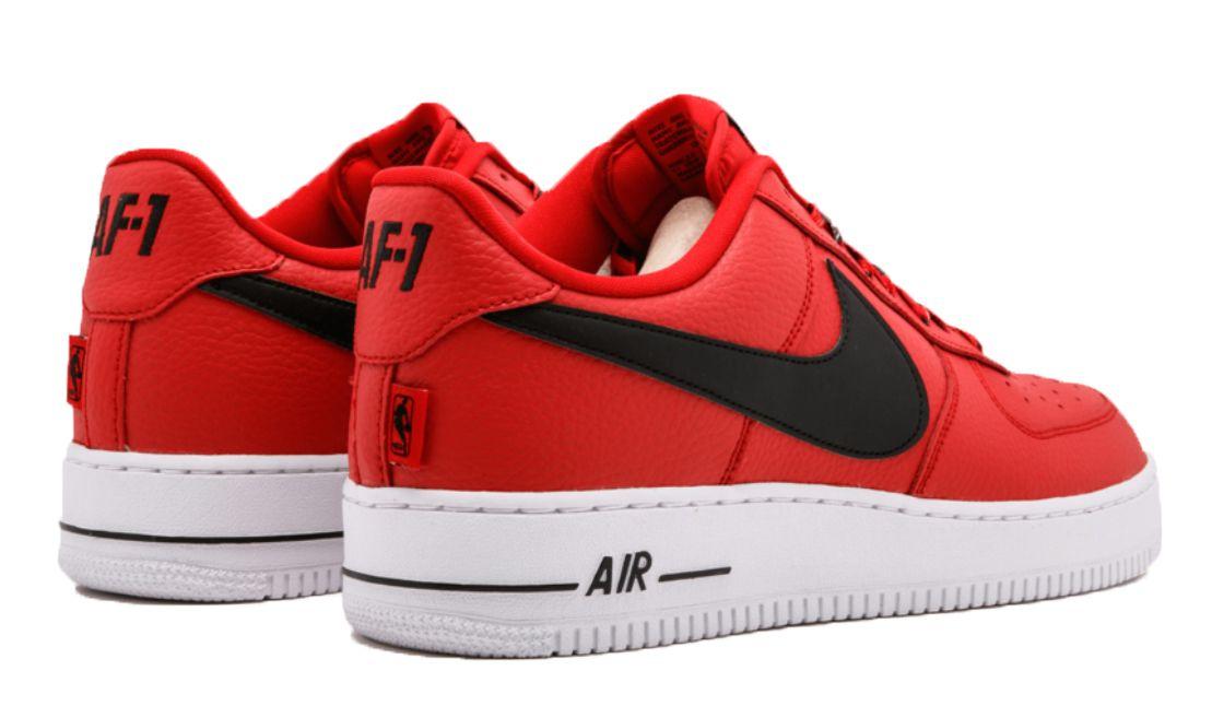 3ecc271a Nike Air Force 1 LV8 NBA красные с черным (35-44) — купить в Москве ...