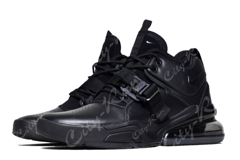 Nike Air Force 270 черные (40-44)