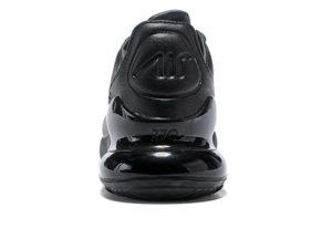 Nike Air Max 270 черные кожа (40-44)
