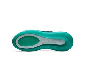 Nike Air Max 720 зелено-синие (35-44)