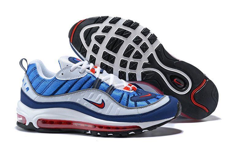 Nike Air Max 98 голубые (35-44)