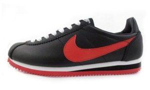 Nike Cortez черные с красным (39-43)