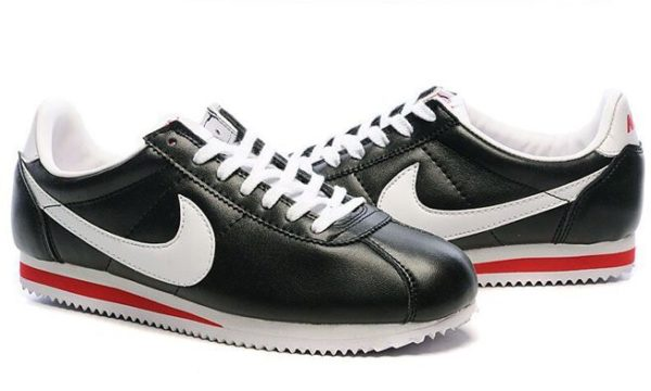 Nike Cortez черные с белым (39-43)