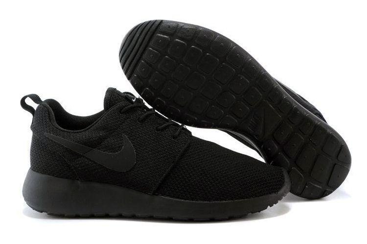 Nike Roshe Run черные (35-44)