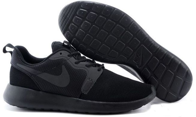 Nike Roshe Run Hyperfuse QS черные 35-45