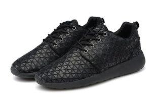 Nike Roshe Run Metric QS черные (39-44)