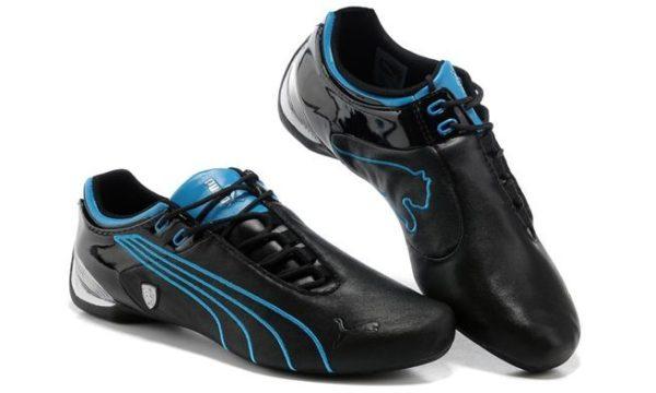 Puma Ferrari (Black/Blue) (39-44)