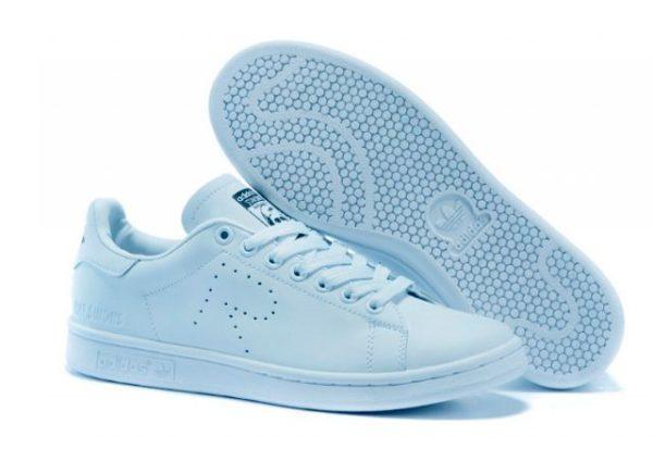 Raf Simons X Adidas Stan Smith голубые (35-39)