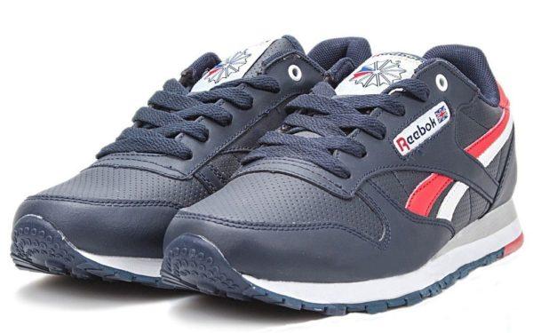 Синие кроссовки Reebok