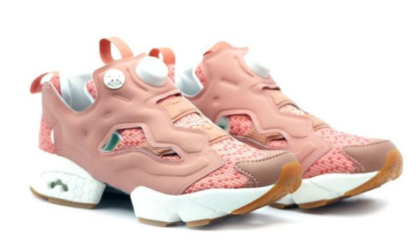 Reebok Insta Pump Fury OFF TG розовые (36-40)