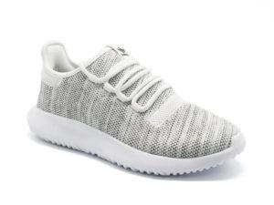 Adidas Tubular Shadow серые с белым