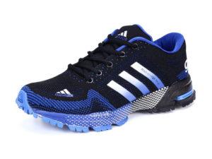 Adidas Marathon tr21 черно-синие