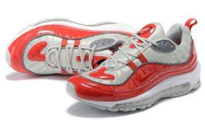 Supreme x Nike Air Max 98 красные (39-44)