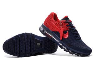 Nike Air Max 2017 темно-синие с красным (40-44)